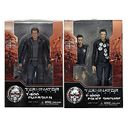 NECA Terminator Genisys Set T-800 Guardian and T-1000 Police Officer Action Figure