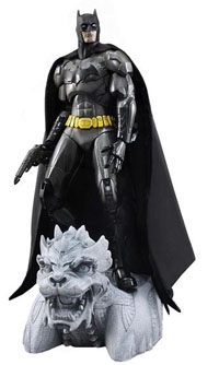 Play Imaginative Super Alloy Metal Batman Action Figure Matte Finish
