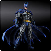 Square Enix Play Arts Kai Arkham City 1970s Batsuit Batman Action Figure