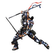Square Enix Play Arts Kai Batman Arkham Origins Deathstroke Action Figure