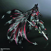 Square Enix Play Arts Kai DC Comics Variant Batman Red Variant Previews Exclusive Action Figure