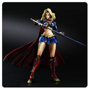 Square Enix Play Arts Kai DC Comics Supergirl Variant Action Figure