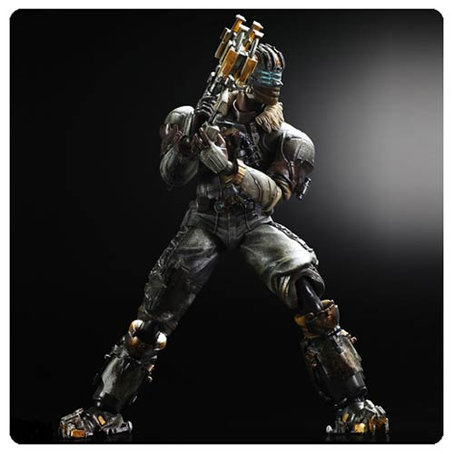 Play Arts Kai Deadspace 3 Isaac Clarke Action Figure