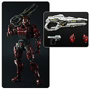 Play Arts Halo 4 Kai Red Spartan Solider Action figure