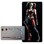 Square Enix Play Arts Kai Arkham City Harley Quinn Action Figure