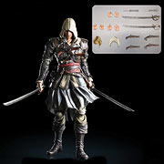 Square Enix Play Arts Assassins Creed 4 Black Flag Edward Kenway Action Figure