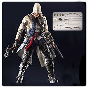 Square Enix Play Arts Kai Assassins Creed 3 Connor Kenway Action Figure
