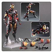 Square Enix Play Arts Kai Marvel Variant Iron Man Action Figure