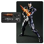 Playarts Kai Mass Effect 3 Commander Shepard Action Figure