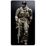 Square Enix Play Arts Kai Medal of Honor Warfighter Preacher Action Figure
