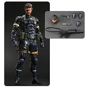 Square Enix Play Arts Kai Metal Gear Solid V Ground Zeroes Snake Action Figure