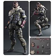 Square Enix Play Arts Kai Metal Gear Solid V Phantom Pain Venom Snake Action Figure