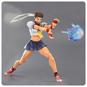 Square Enix Play Arts Kai Street Fighter IV Sakura Action Figure