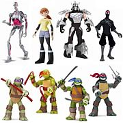 Playmates Teenage Mutant Ninja Turtles Basic Action Figure Wave 1