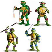 Teenage Mutant Ninja Turtles Classic Retro Collector Leonardo Michelangelo Raphael Donatello Action Figure