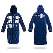 Robe Factory Doctor Who Tardis Hooded Blue Bathrobe