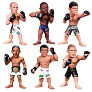 Round 5 UFC Ultimate Collector Series 13 Action Figure Benson Henderson, Nick Diaz, Rory MacDonald, Rashad Evans, Chael Sonnen, Antonio Silva