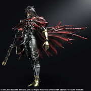 Square Enix Play Arts Kai Final Fantasy VII Advent Children Vincent Valentine Action Figure