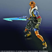 Square Enix Play Arts Kai Final Fantasy X Tidus Action Figure